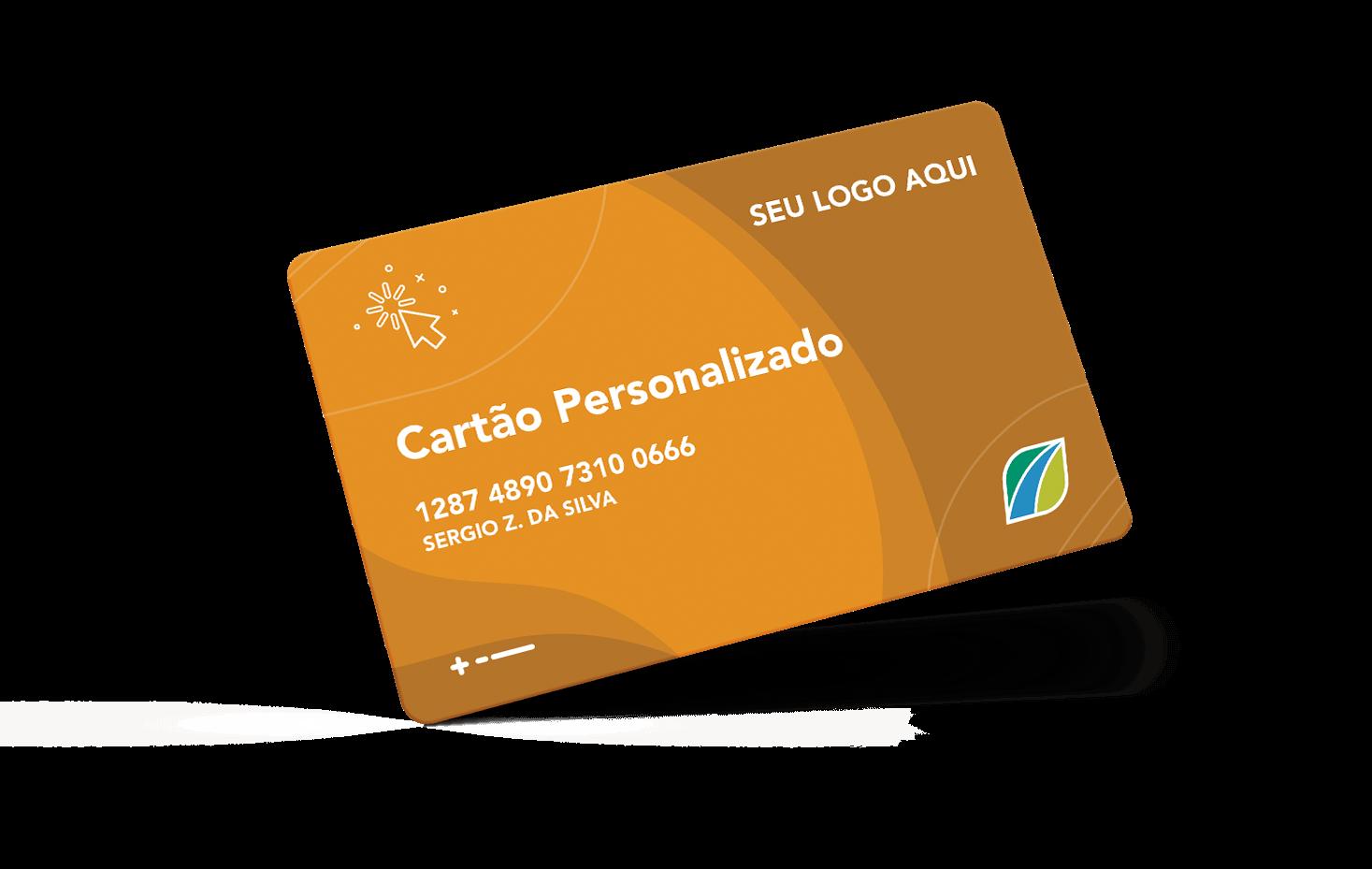 mockup cartão personalizado