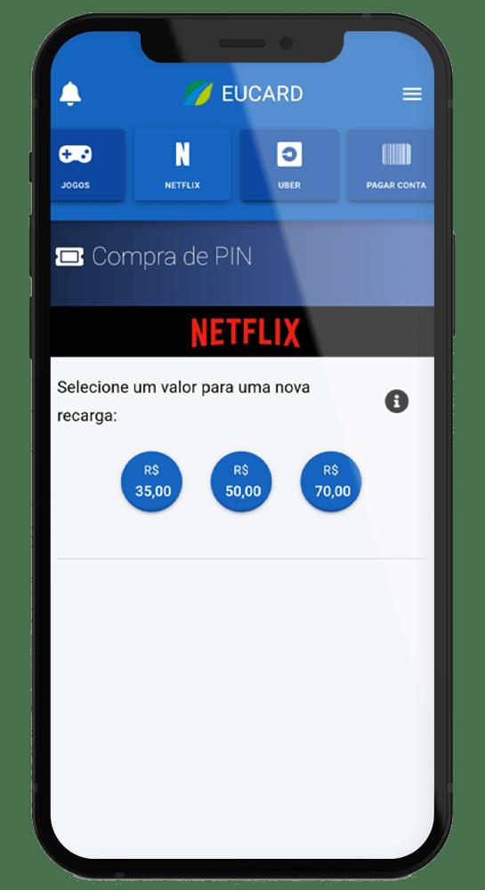 aplicativo netflix eucard